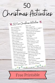 In this post, I'm sharing a few fun, family friendly, Christmas activities to give you some ideas of things to do during December. #christmas #freeprintable Christmas Music, Christmas Lights, Christmas Crafts, Christmas Tree, Music Do, Christmas Activities, Free Printables, Things To Do, December