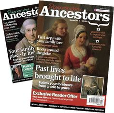 Discover Your Ancestors ~ a magazine devoted to discovering the history, culture and genealogy of your Ancestors.