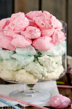 Easy, No Fail Jell-O Divinity - Pretty pastel candies are the essential treat for your Easter holiday. Lovely for baby showers too!