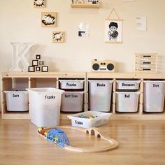 37 Ikea Kids Hacks Every Parent Should Know - james and catrin Toy Room Storage, Toy Room Organization, Kids Playroom Storage, Storage For Kids Toys, Toy Organizer Ikea, Storage Ideas, Pantry Organisation, Storage Design, Diy Storage