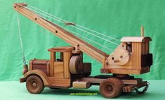 wooden toy and model truck plans Wooden Toy Trucks, Wooden Toys, Woodworking Projects For Kids, Woodworking Shop, Wood Toys Plans, Rustic Bathroom Decor, Kids Wood, How To Plan, Walking Sticks