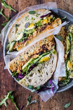 Tuscan Tuna Sandwich | halfbakedharvest.com  I wish I had this sandwich right now.