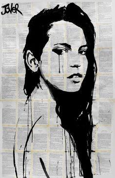 "Saatchi Art Artist: Loui Jover; Ink 2013 Drawing ""storm (SOLD)"""
