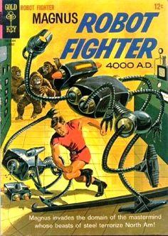 Magnus Robot Fighter #13  August 1965
