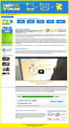 Web cash loan picture 1