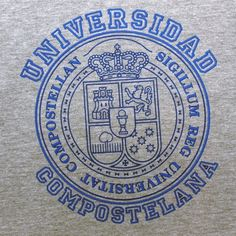 New Collection Spring/Summer 2013. Unisex T-shirt University of Santiago. 100% cotton. Souvenir of The Way of St.James. Tax free $14.90