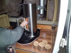 Woodstove for a very small house