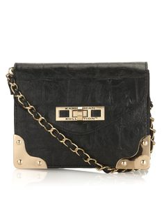 Kardashian Croc Shoulder Bag