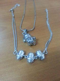 Necklace n bracelet piggy
