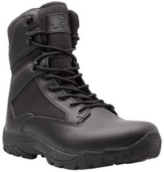LAPG Black Classic 8 Side Zip Duty Boot  54.99 Duty Boots 967fa9ed079