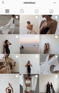 Instagram Feed Goals, Best Instagram Feeds, Instagram Feed Ideas Posts, Creative Instagram Photo Ideas, Insta Photo Ideas, Instagram Design, Instagram Themes Ideas, Aesthetic Instagram Accounts, Black And White Instagram