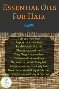 Best Essential Oils for Hair Care and Repair – Enjoy Natural Health Here are a few of the most popular essential oils that are good for your hair along with the conditions they can help. Essential Oils For Colds, Essential Oils Guide, Essential Oil Diffuser Blends, Essential Oil Uses, Young Living Essential Oils, Self Tanning Spray, Diy Hair Care, Healthy Oils, Healthy Hair