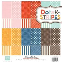 @Overstock - ECHO PAPER PARK-Dots & Stripes: Homefront Collection Kit. This Collection Kit includes twelve 12x12 inch double-sided scrapbook papers: one each of twelve designs. Acid and lignin free. Made in USA.http://www.overstock.com/Crafts-Sewing/Dots-Stripes-2-Homefront-Collection-Kit-12-X12/6724810/product.html?CID=214117 $9.99