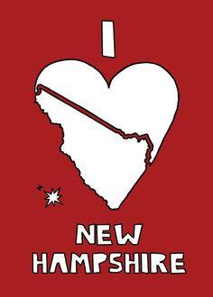 This world needs more New Hampshire appreciation apparel. And so do I.