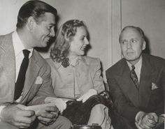 Clark Gable Carole Lombard And Jack Benny