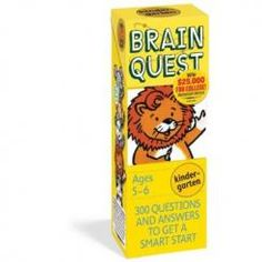 Brain Quest for Kindergarten $9.49