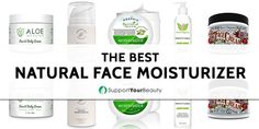 How to know if your skin is thirsty? Is it time to get all the moisture and vitamins? Fiest on the best natural face moisturizer! Best Natural Face Moisturizer, Homemade Face Moisturizer, Moisturizer For Oily Skin, Face Scrub Homemade, Moisturizer For Combination Skin, Aloe On Face, Exfoliating Face Scrub, Face Wrinkles, Best Face Products