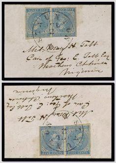 [Envelope addressed to Mrs. Mary H. Tabb, care of Geo. E. Tabb Esq., Mathews Cthouse., Virginia; postmarked Staunton, Va.]
