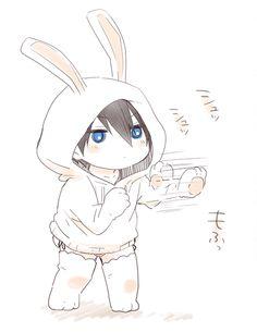 Free! Iwatobi Swim Club - Little Haru