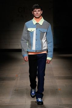Christopher Shannon | Menswear - Autumn 2017 | Look 3 High Fashion Men, Mens Fashion, Style Fashion, Christopher Shannon, First Relationship, Autumn 2017, Mens Fall, Spring Summer 2016, Fashion Menswear
