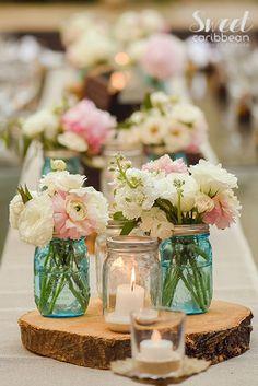 nice 55 Gorgeous Rustic Vintage Wedding Centerpieces Ideas  https://viscawedding.com/2017/05/04/gorgeous-rustic-vintage-wedding-centerpieces-ideas/
