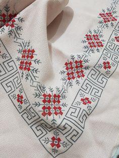 Seccade Mini Cross Stitch, Cross Stitch Flowers, Cross Stitch Embroidery, Hand Embroidery, Embroidery Designs, Granny Square Crochet Pattern, Cross Stitch Designs, Cross Stitch Patterns, Crosses