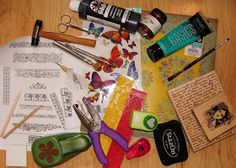 My Art Journal: My Project With AMACO--It's All About the Metal