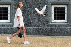 Street Style during Copenhagen Fashion Week SS 2016