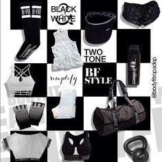 #BlackAndWhite #BodyFit #ExerciseYourStyle