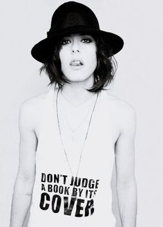 Katherine Moennig- she never came out as gay OR heterosexual for that matter... but I personally can't imagine her as anything but a lesbian lol