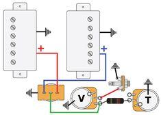 wiring eddie van halen shark wiring halen com welcome to mod garage les paul master wiring 1 premier guitar