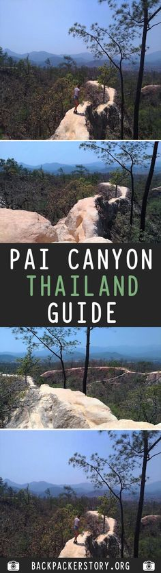 Pai Canyon is about 8 km far from Pai along the road to Chiang Mai. Getting to Pai from Chiang Mai From Chiang Mai bus terminal 2 there is Travel Blog, Travel And Tourism, Us Travel, Travel Destinations, Travel Around The World, Around The Worlds, Thailand Travel Tips, Travel Information, Adventure Is Out There