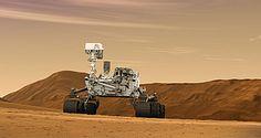 Nasa for Educators  Artist concept of Curiosity rover on Mars