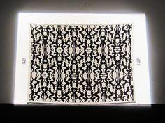 NYMPHS Carpet in Tessuto Jacquard Produced by M Designer Elisa Berger 140x200 cm