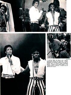 Michael Jackson/Jackson 5 @ UT, 1985