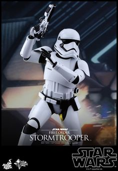 Hot Toys' Star Wars: The Force Awakens – First Order Stormtrooper