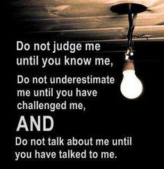 Do not.....