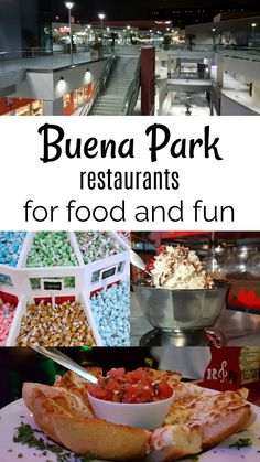 Buena Park Restaurants for Food and Fun in Orange County California AD
