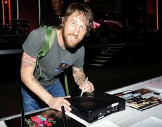 Chris Shiflett of Foo Fighters attends The 54th Annual GRAMMY Awards MusiCares Person of the Year rehearsals