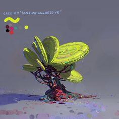 """ArtStation - A tree a day to clear my head #11 """"Johann passive aggressive"""", Lip Comarella"""