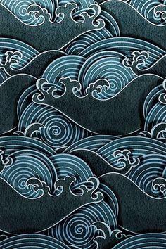 / wave design /