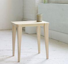 moe side table. Simple, like it.