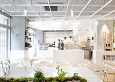 Café Coutume Aoyama is Inspired by Science #cafes trendhunter.com