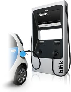 The Blink DC Fast Charger is the fastest way to charge up your - it can get you to an charge in just 30 minutes! Ev Charger, Electric Car Charger, Electric Cars, Electric Vehicle, Solar Thermal Energy, Electric Pickup Truck, Car Charging Stations, Car Station, Id Design