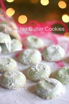 Pistachio Butter #Cookies. #desserts                                                                                                                                                                                 More