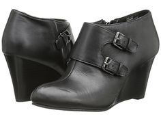 Anne Klein Anne Klein  Tylor Leather Womens Wedge Shoes for 59.99 at Im in!