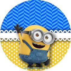 Montando minha festa: Kit digital gratuito para imprimir Minions! Minion Birthday, Minion Party, Mickey Mouse Birthday, Minions Eyes, Minions Despicable Me, Cute Cartoon Pictures, Cartoon Pics, Candy Bar Minions, Minion Stickers