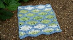 Watery Ripples Dishcloth