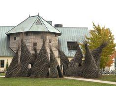 Patrick Dougherty's Sculptures.