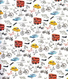Transport by Hennie Haworth #pattern #illustration